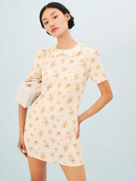Reformation Darlene Dress in Mildred $198