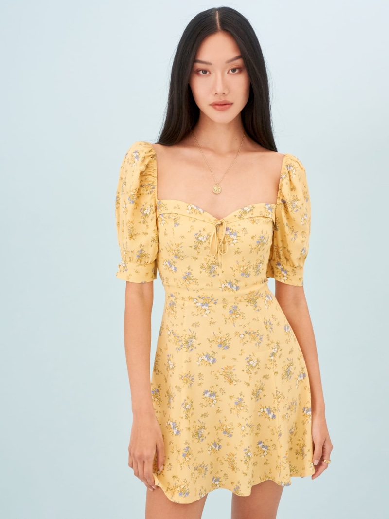 Reformation Lillet Dress in Felicity $218