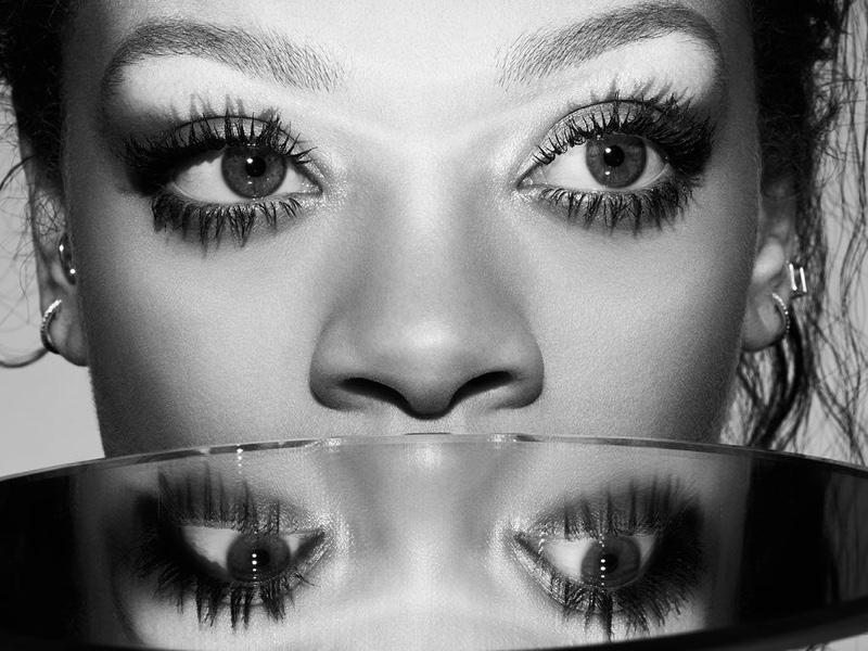 Rihanna stars in Fenty Beauty Full Frontal Mascara campaign