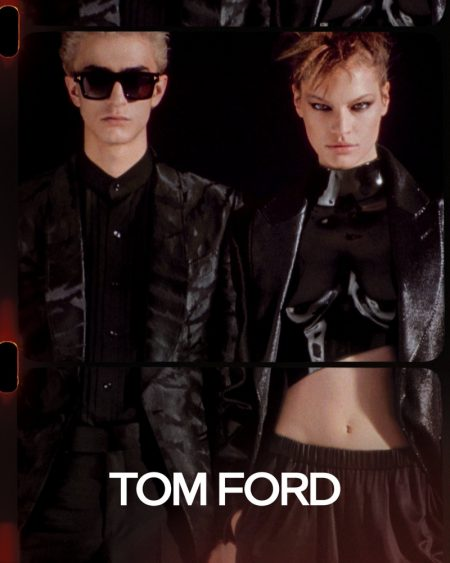 An image from Tom Ford's spring 2020 advertising campaign