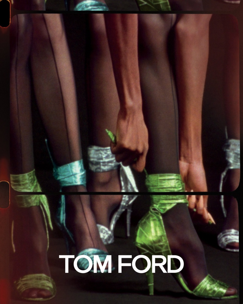 Tom Ford focuses on heels for spring-summer 2020 campaign