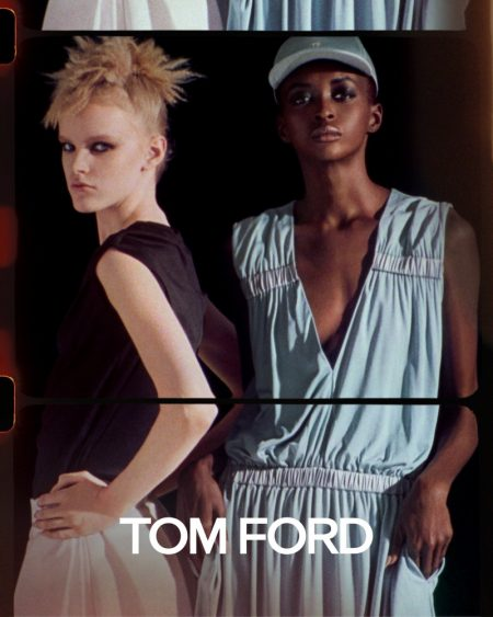 Tom Ford Channels New Wave Vibes for Spring 2020 Campaign