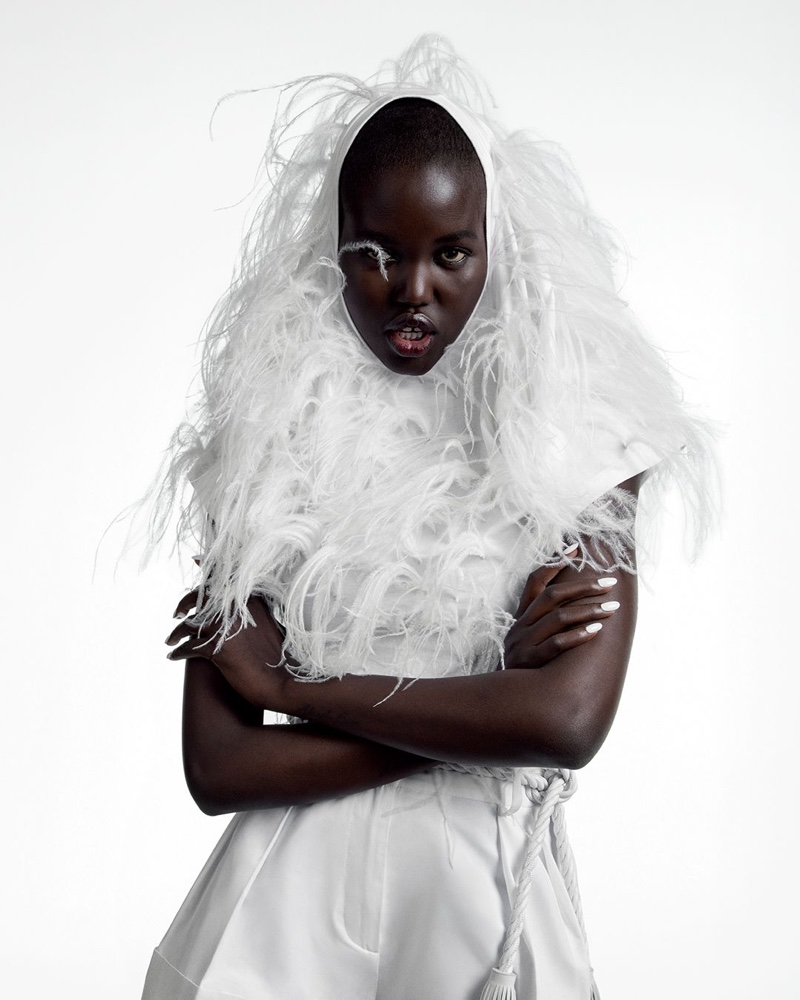 Adut Akech stars in Valentino spring-summer 2020 campaign