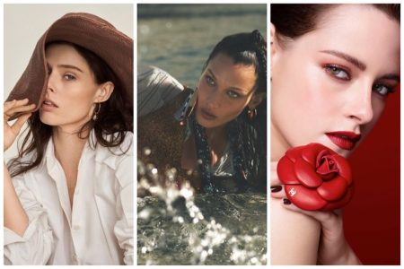 Week in Review | Coco Rocha's New Cover, Bella Hadid in Missoni, Kristen Stewart for Chanel