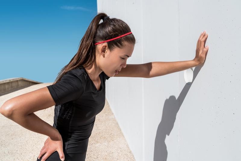 Woman Muscle Pain Hard Workout