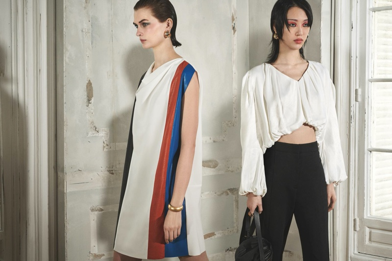 Lara Mullen and Sora Choi star in Zara The Gallery spring 2020 editorial