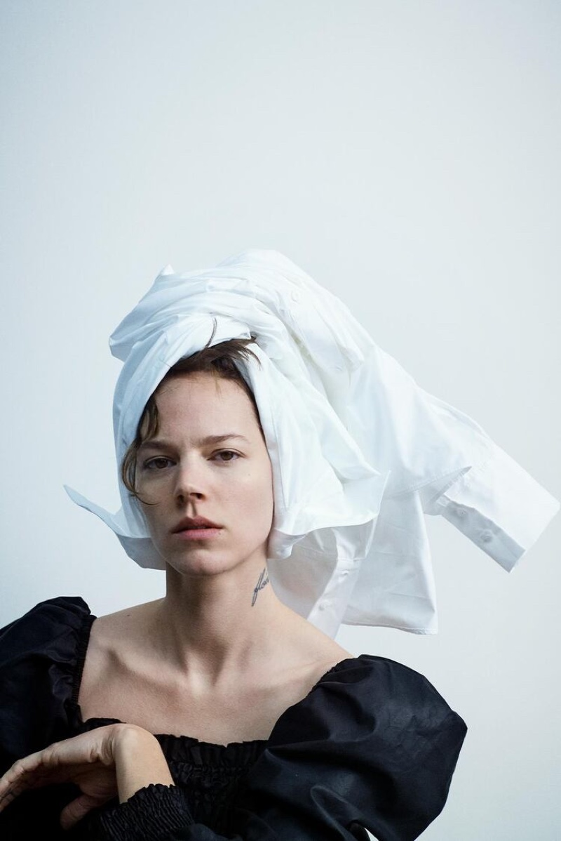 Freja Beha Erichsen fronts Zara Join Life spring-summer 2020 editorial