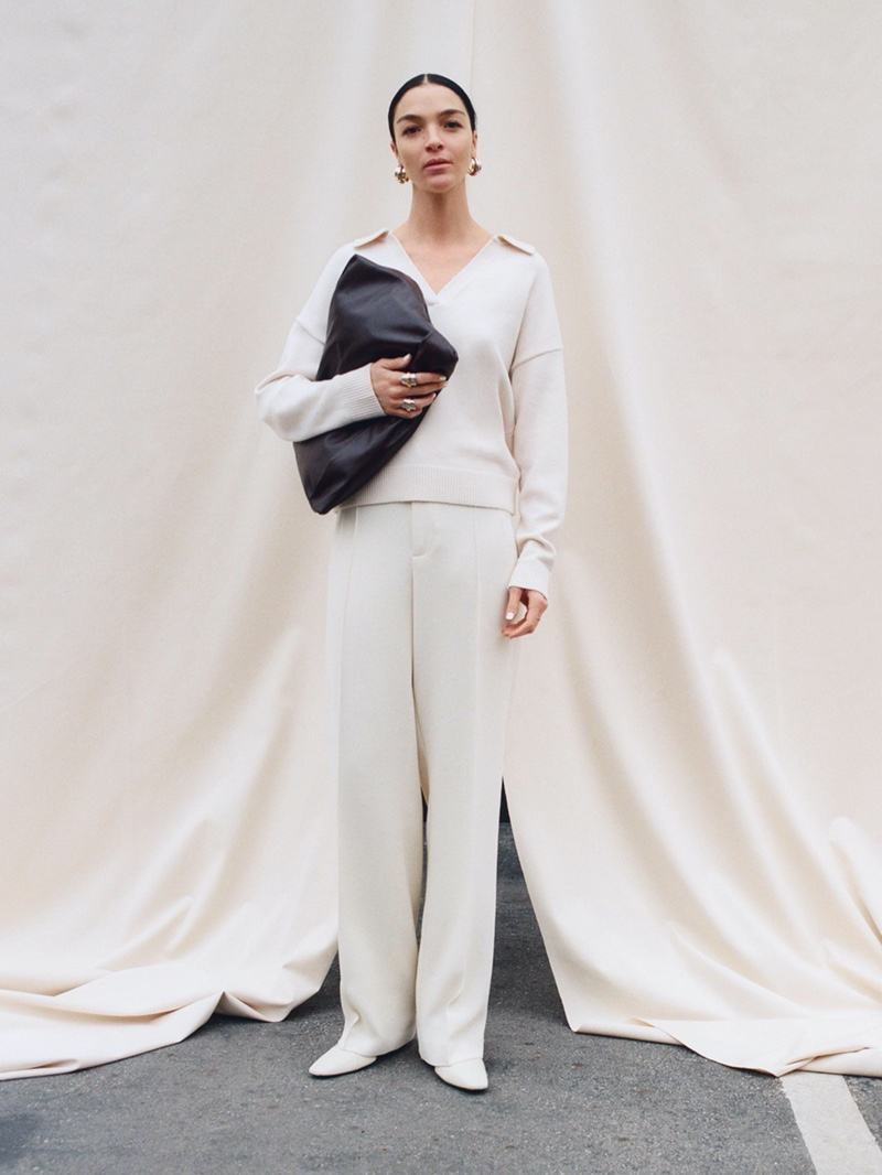 Zara highlights spring 2020 knitwear with new editorial