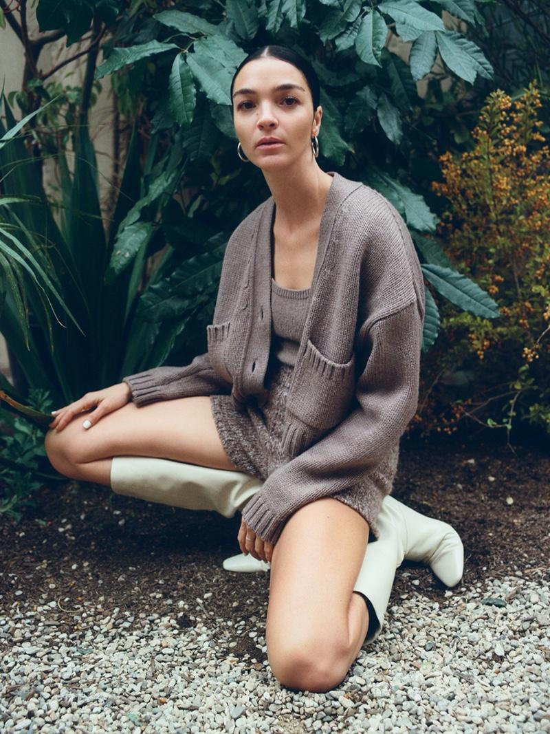 Mariacarla Boscono fronts Zara Awakening Collection spring-summer 2020 lookbook