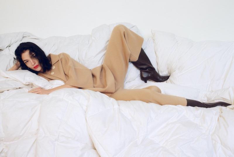 Mariacarla Boscono stars in Zara Awakening Collection spring-summer 2020 lookbook