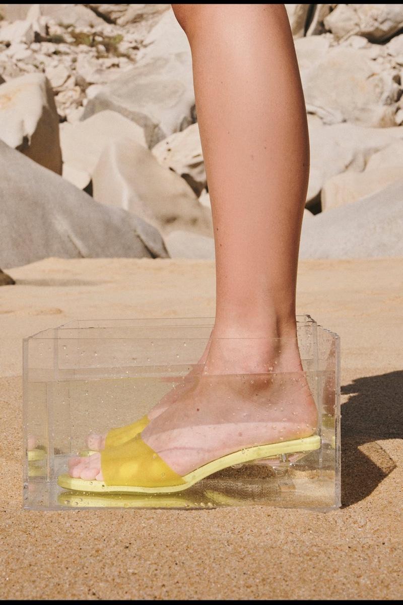 Zara Kitten Heel Sandals