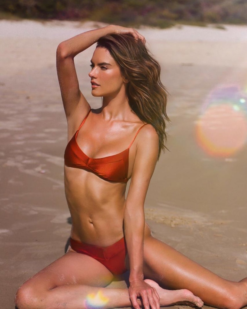 Flaunting her bikini body, Alessandra Ambrosio poses for Gal Floripa 2020 campaign