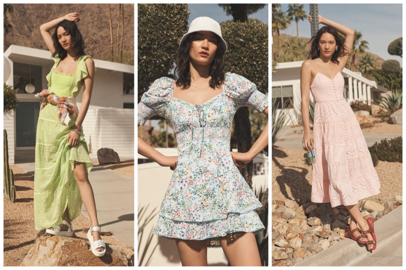 alice + olivia spring summer 2021 dresses