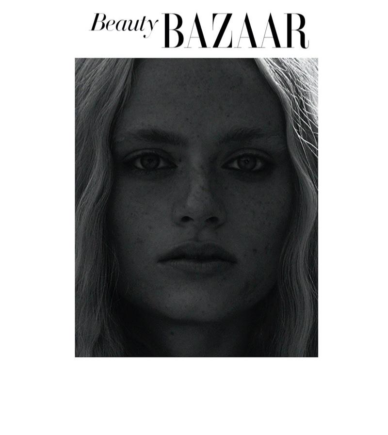 Anne Zarske Brings Beauty Outdoors for Harper's Bazaar Turkey