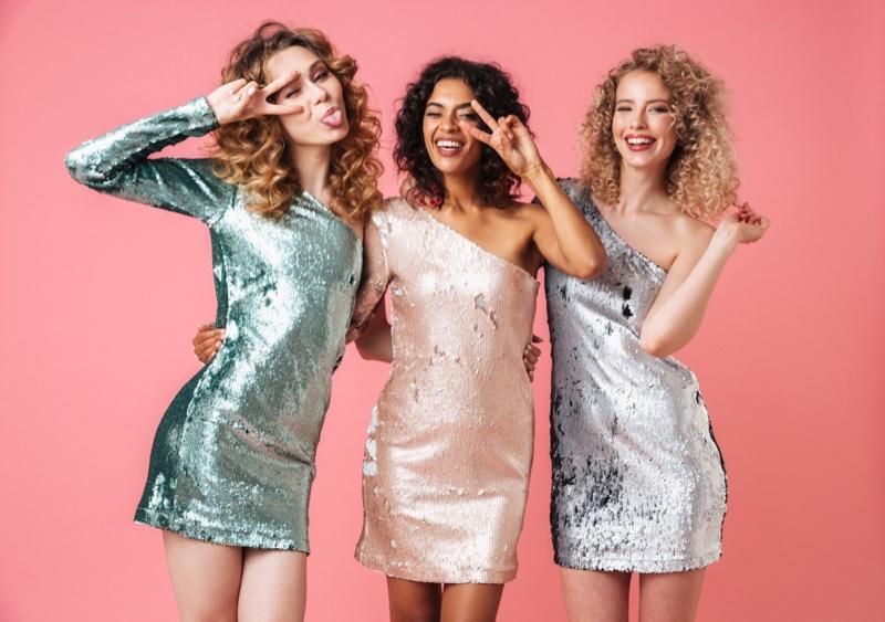 Attractive Women Sequin Dresses