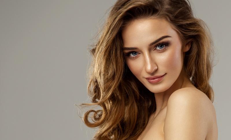 Beautiful Model Beauty Hair Skin