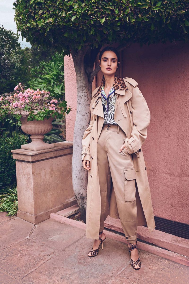 Blanca Padilla Wears Elegant Spring Trends for Bergdorf Goodman