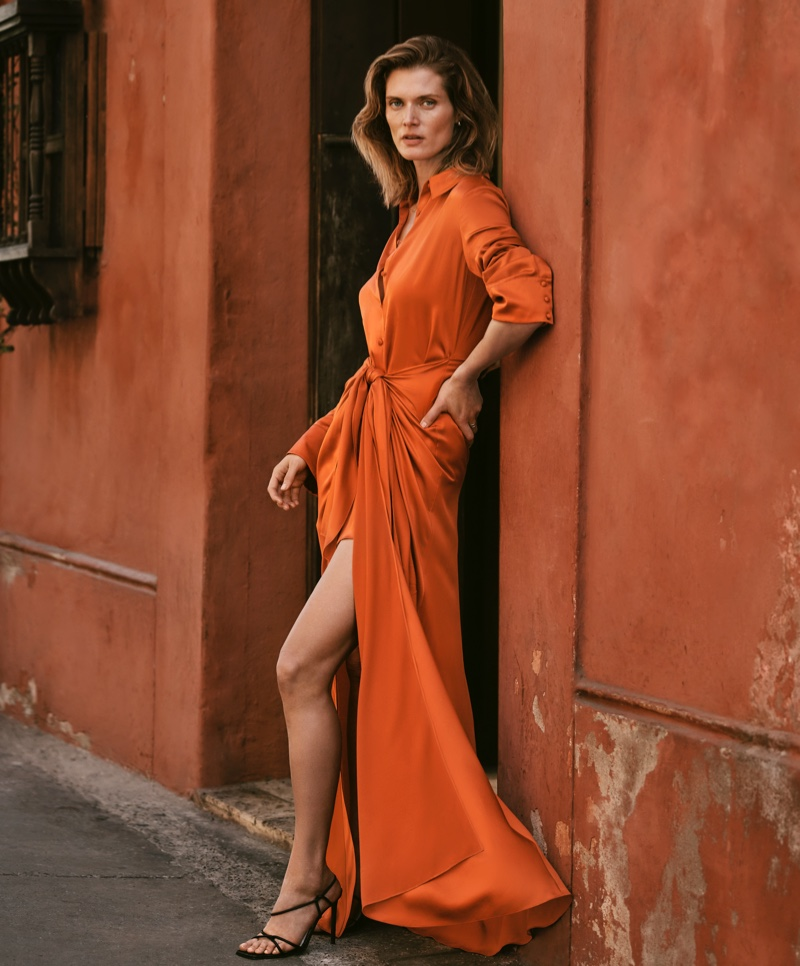 Malgosia Bela poses for Bloomingdale's Mix Masters spring-summer 2020 campaign
