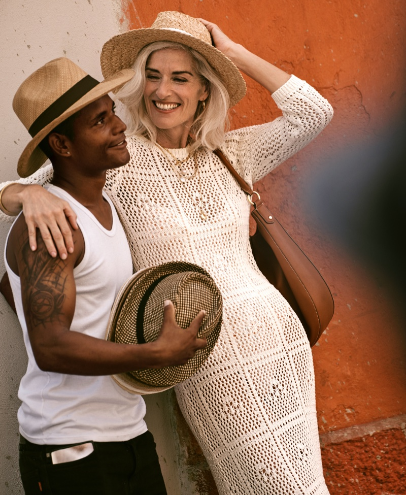Simone Jacob is all smiles in Bloomingdale's Mix Masters spring-summer 2020 campaign