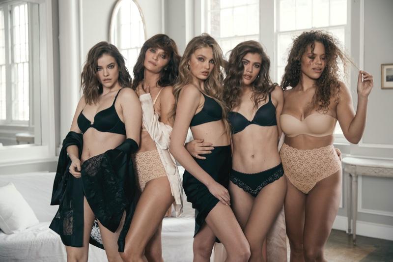 Barbara Palvin, Helena Christensen, Romee Strijd, Valentina Sampaio and Solange van Doorn star in Body by Victoria Victoria's Secret campaign