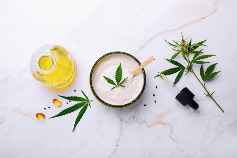 CBD Beauty Topical Products