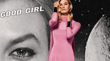 Karlie Kloss Is Movie Glam in Carolina Herrera 'Good Girl Fantastic Pink'