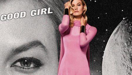 Karlie Kloss Is Movie Glam in Carolina Herrera 'Good Girl Fantastic Pink'