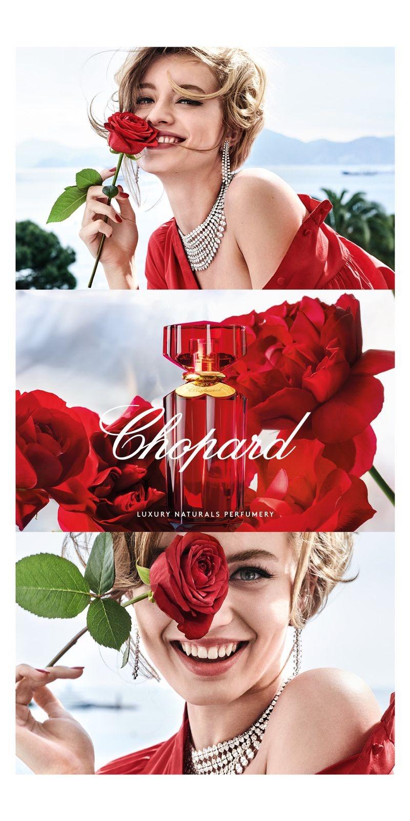 Chopard unveils Love Chopard perfume campaign