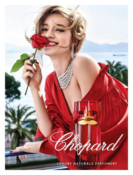 Giulia Maenza stars in Chopard Love Chopard perfume campaign