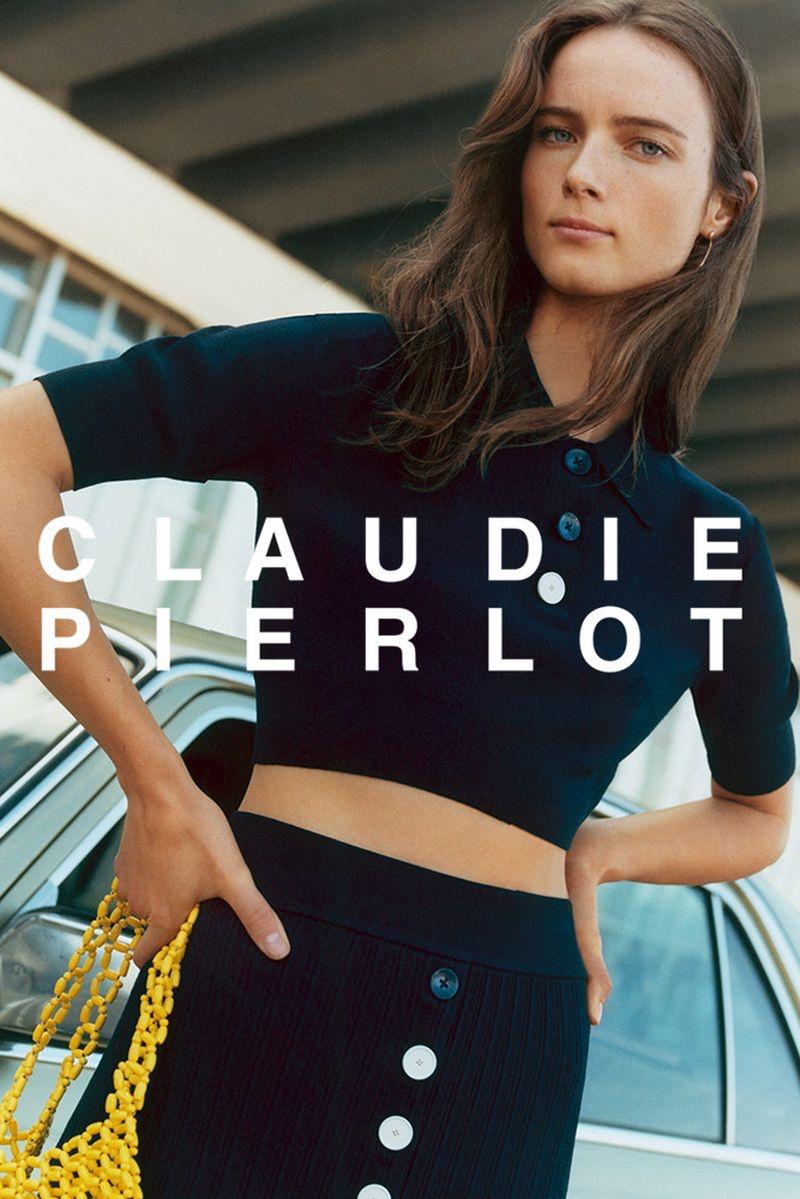 Anna de Rijk stars in Claudie Pierlot spring-summer 2020 campaign