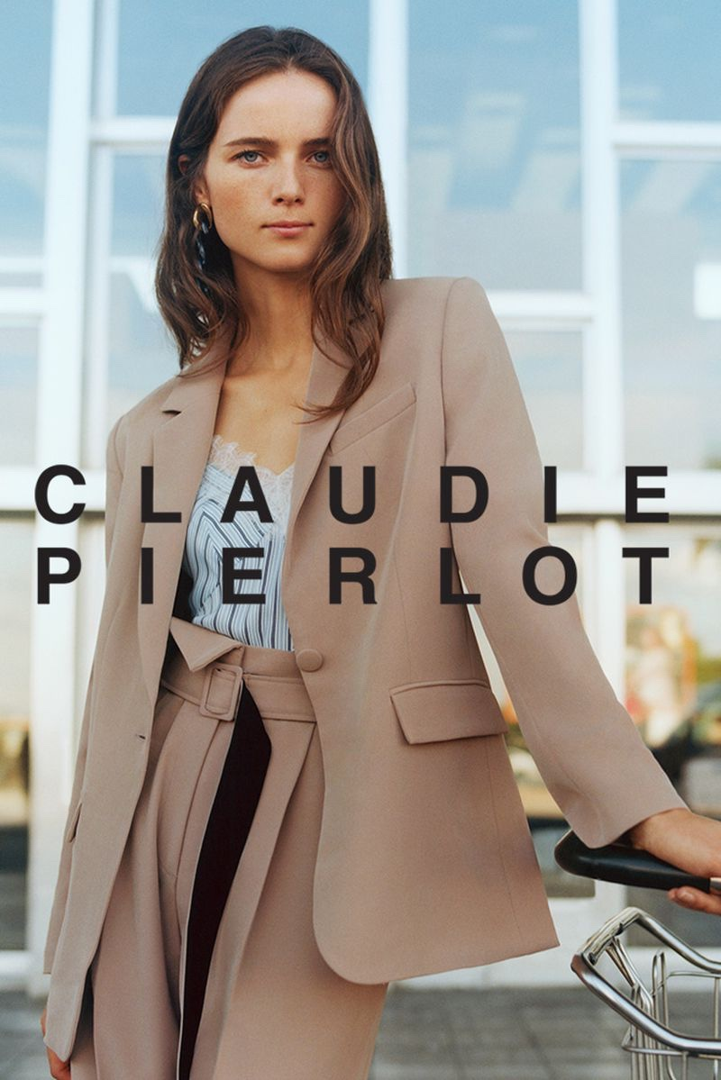 Claudie Pierlot suits up in spring-summer 2020 campaign