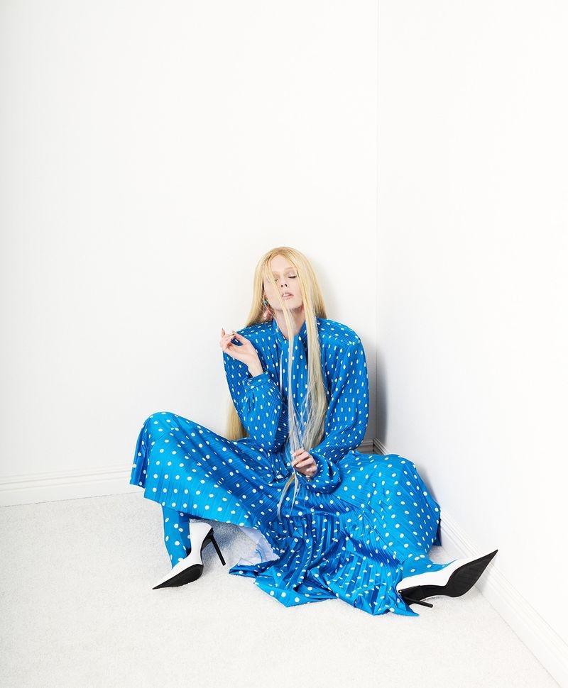 Coco Rocha is a Fashion Chameleon for Harper's Bazaar Taiwan