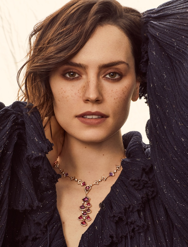 Daisy Ridley Harper S Bazaar Malaysia Lara Jade Cover Photoshoot