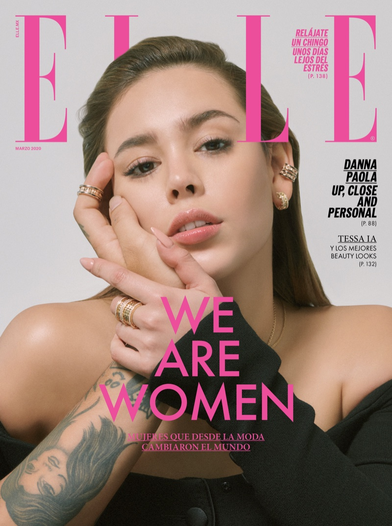 Danna Paola on ELLE Mexico March 2020 Cover