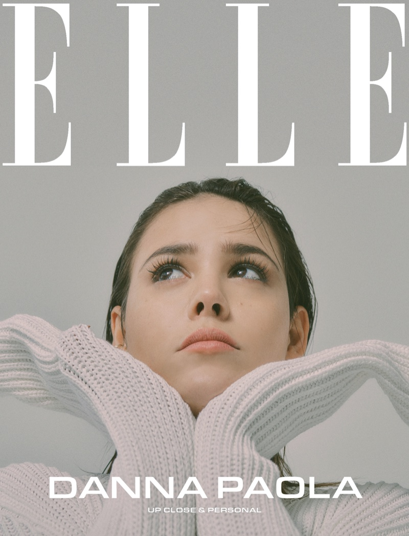 Actress Danna Paola on ELLE Mexico March 2020 Cover