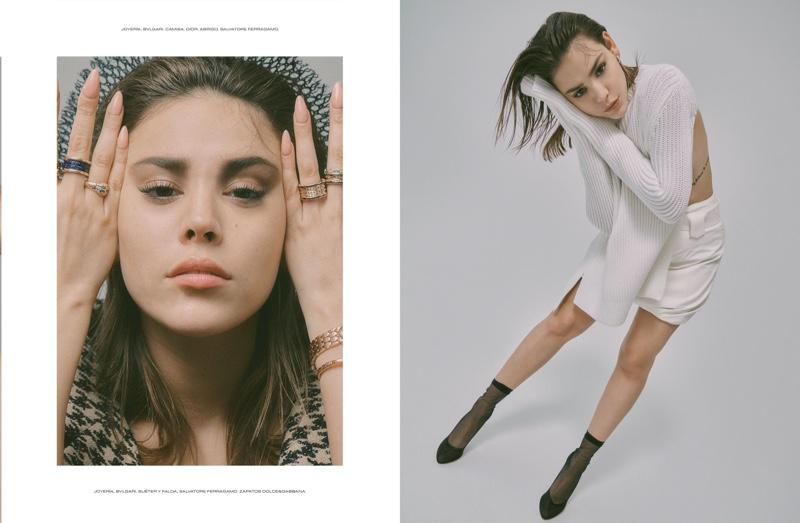 Harper Smith photographs Danna Paola for ELLE Mexico