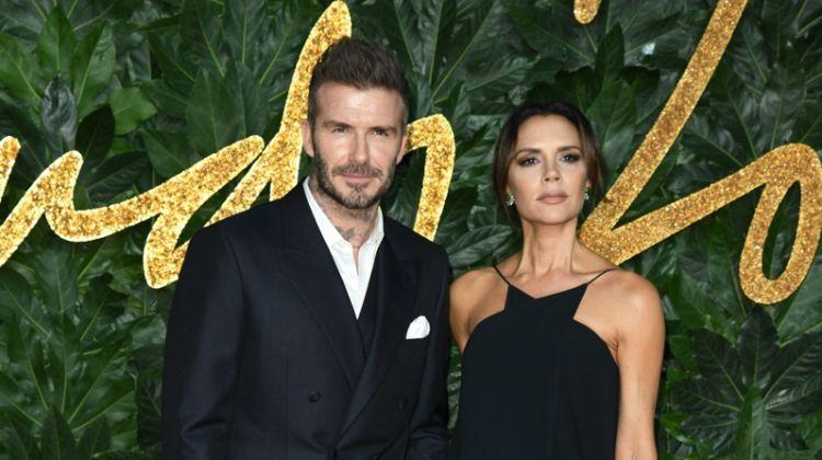 David Beckham & Victoria Beckham at The Fashion Awards 2018