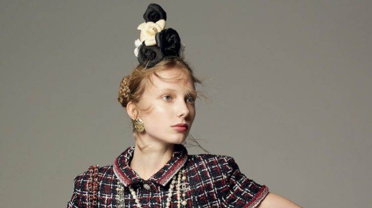 Demy de Vries Wears Spring Styles for D la Repubblica Magazine