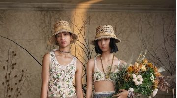 Selena Forrest and Jiali Zhao star in Dior Nature in Bloom summer 2020 campaign