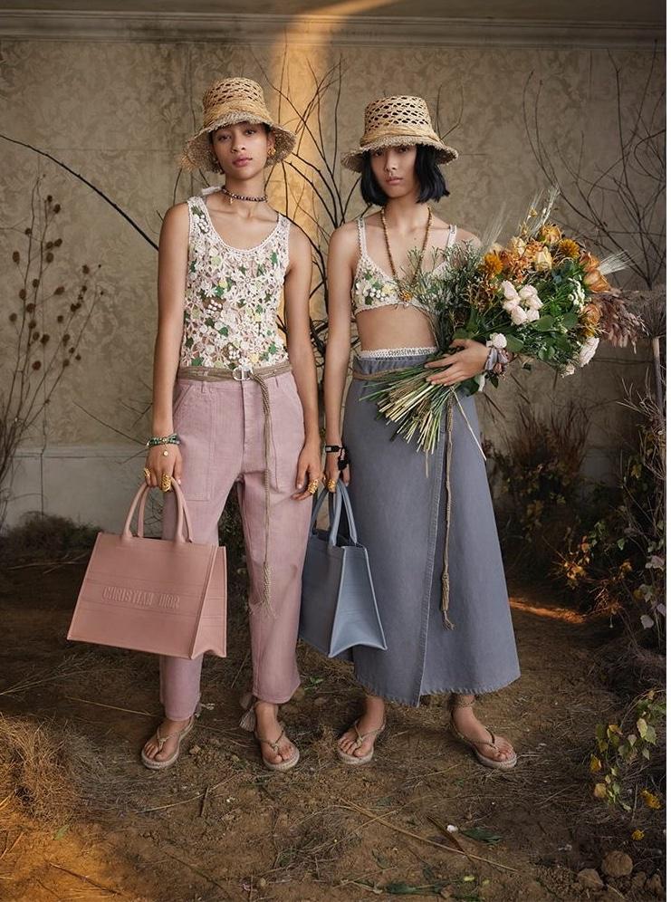 Ruth, Selena & Jianli Bloom Indoors for Dior Summer 2020 Campaign
