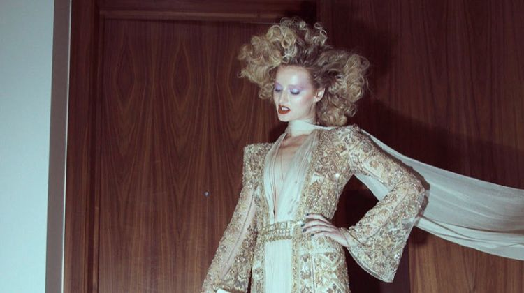 Ekaterina Korobova Poses in Glamorous Styles for Harper's Bazaar Serbia
