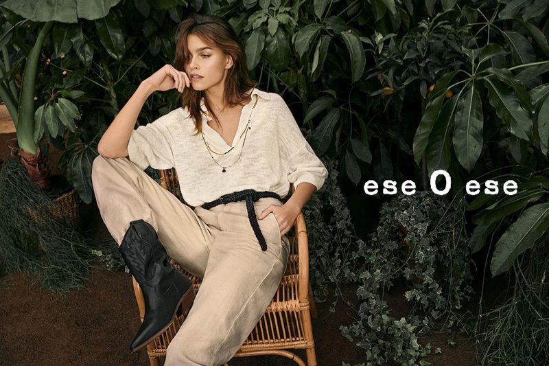 Olivia Edit stars in Ese o Ese spring-summer 2020 campaign