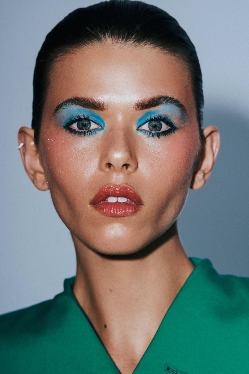 Georgia Fowler Models Bold Beauty for Numero Russia