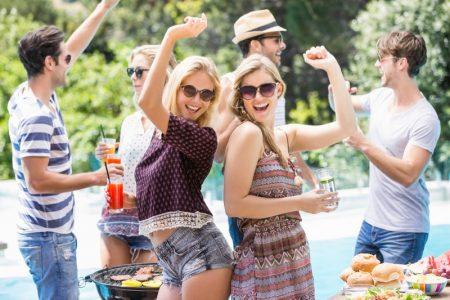 Girls Guys Summer Party Sun Fun