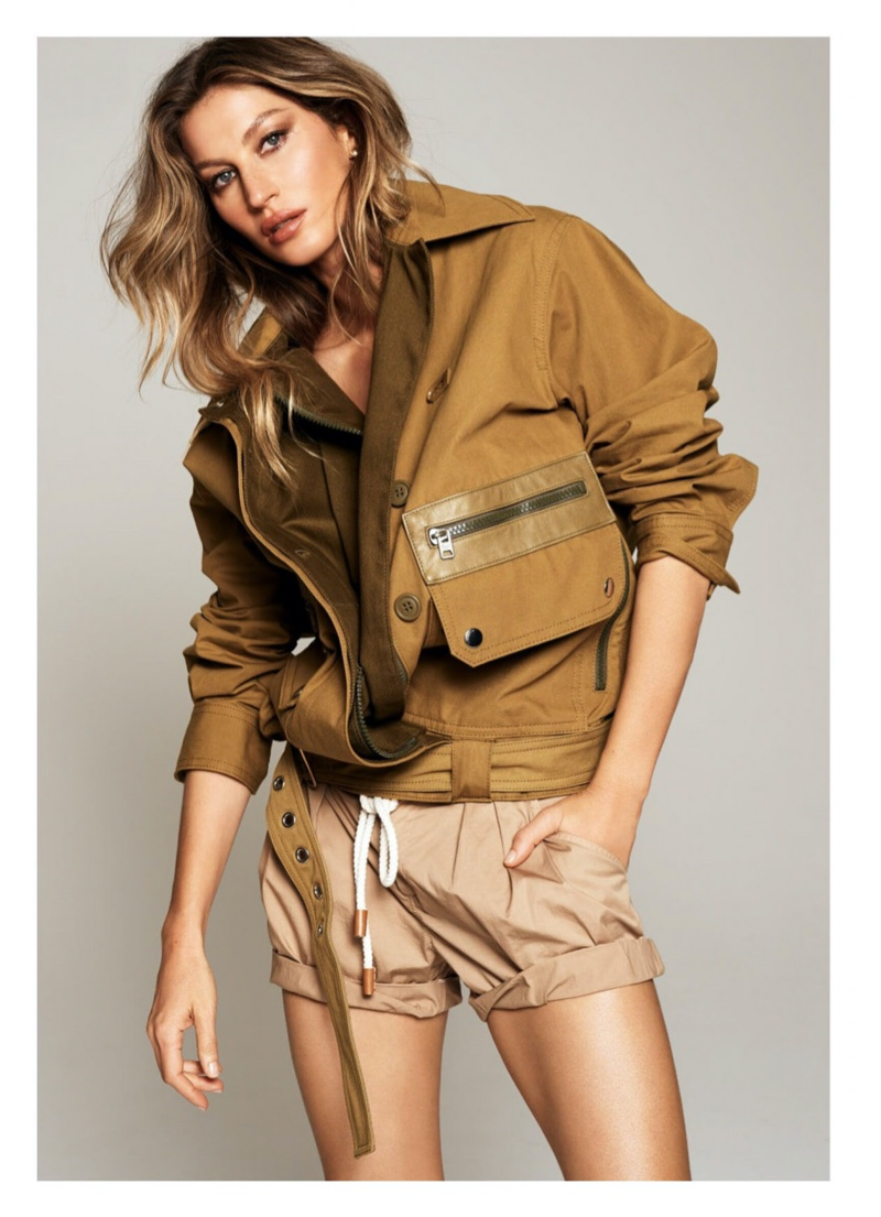 Gisele Bundchen Models Understated Fashions for Harper's Bazaar Australia