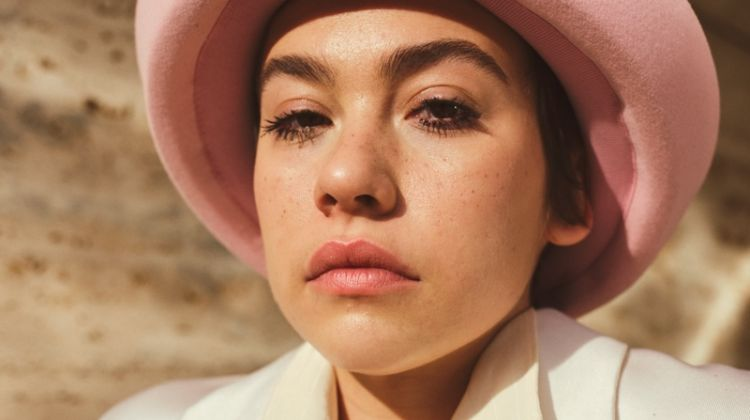 Greta Fernandez poses for Vogue Spain's March 2020 issue