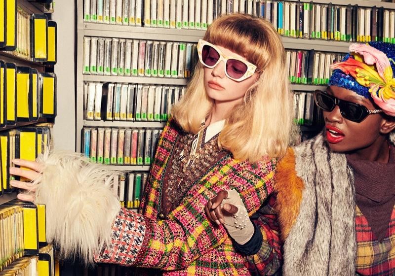 Gucci unveils spring-summer 2020 eyewear campaign