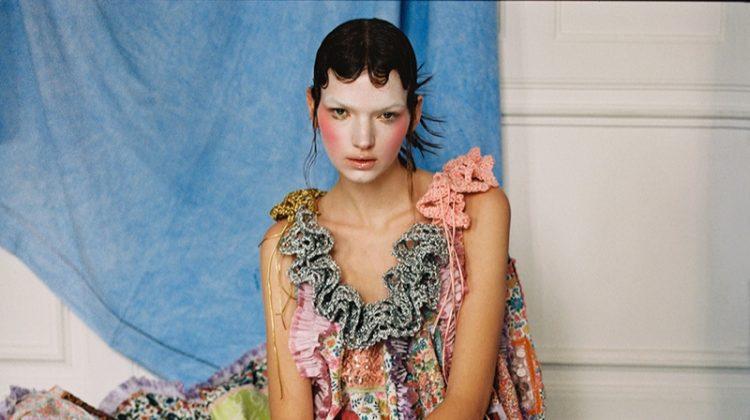 Eva & Sasha Model Couture Looks for Vogue Portugal
