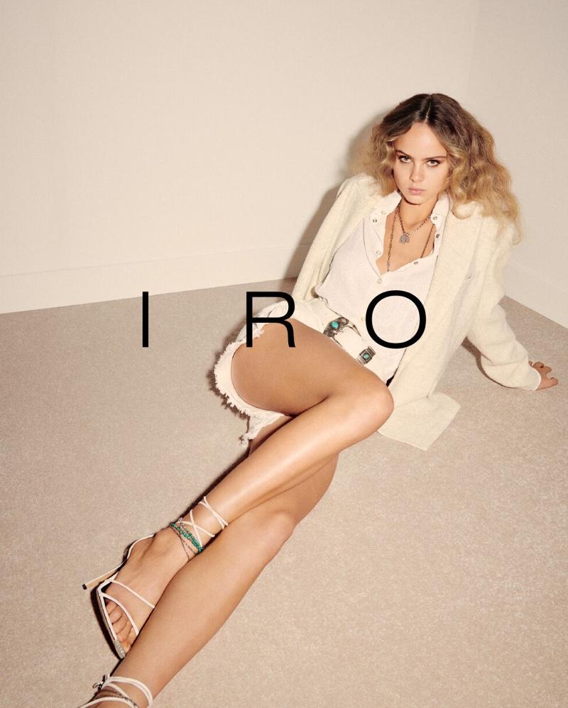 Olivia Vinten stars in IRO spring-summer 2020 campaign