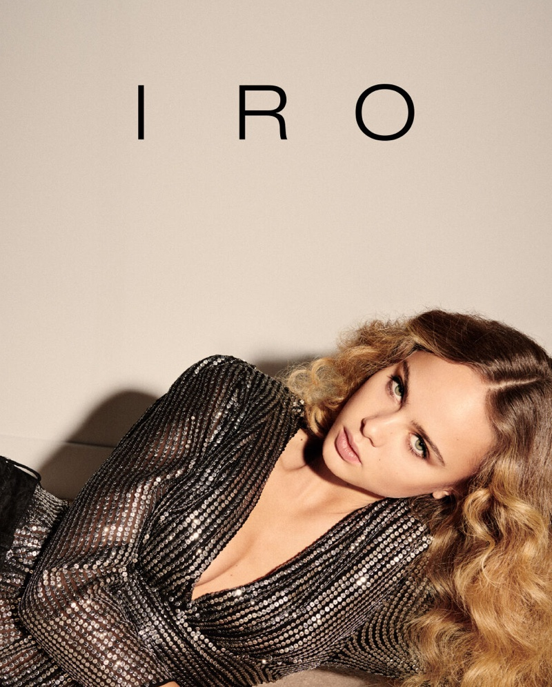 An image from IRO's spring 2020 advertising campaign